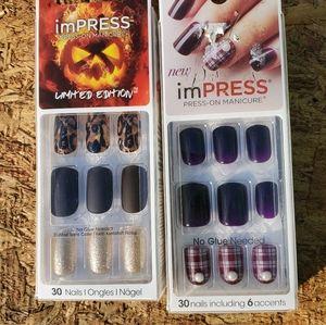 Seasonal nails!!